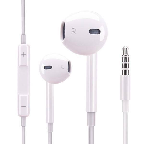Apple iPhone 純正 イヤホン マイク Earpodsタイプ バルク品 わけあり品 純正同等コントロール可 3.5mmオーディオプラグ 送料無料|brillerjapan|02
