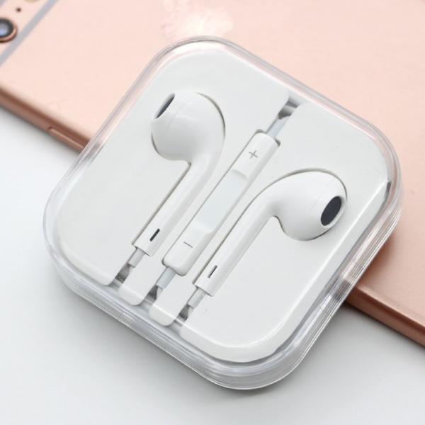 Apple iPhone 純正 イヤホン マイク Earpodsタイプ バルク品 わけあり品 純正同等コントロール可 3.5mmオーディオプラグ 送料無料|brillerjapan|03