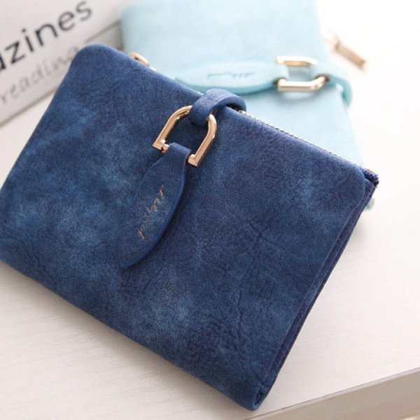 二つ折り財布 ミニ財布 小銭入れ カード コインケース  6色 レディース 女性用  かわいい ギフト プレゼント送料無料|brillerjapan|10