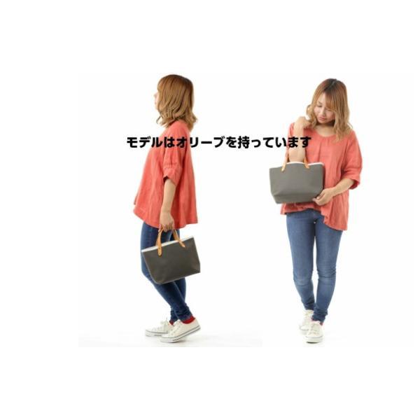 帆布トートバッグ 倉敷帆布 レディース キャンバス マスタード 持ち手ヌメ革 トートバッグ 日本製