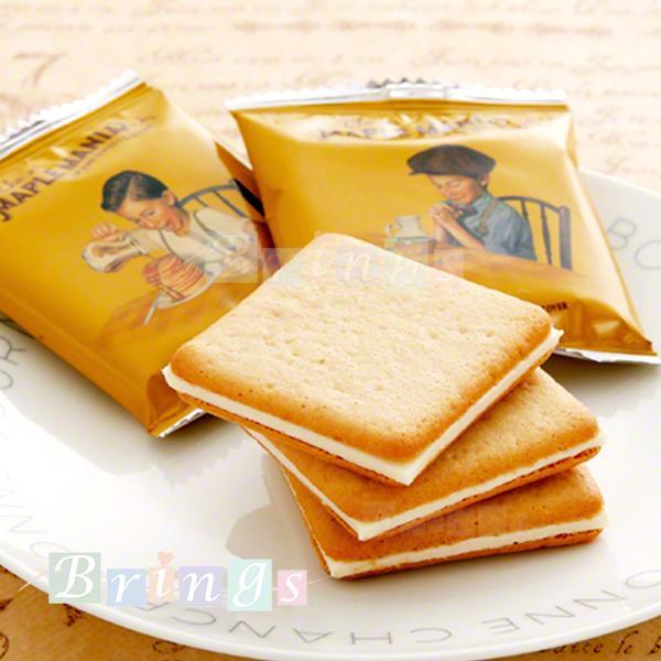 メープルマニア メープル バタークッキー 9枚入 THE MAPLE MANIA FINE SWEETS STORE 専用おみやげ袋(ショッパー)付き