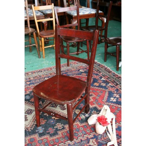 イギリスアンティーク家具 キッズチェア 子供椅子173-4 英国製 1960年頃 送料無料|british-life