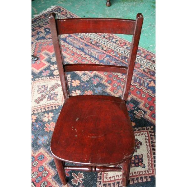 イギリスアンティーク家具 キッズチェア 子供椅子173-4 英国製 1960年頃 送料無料|british-life|02