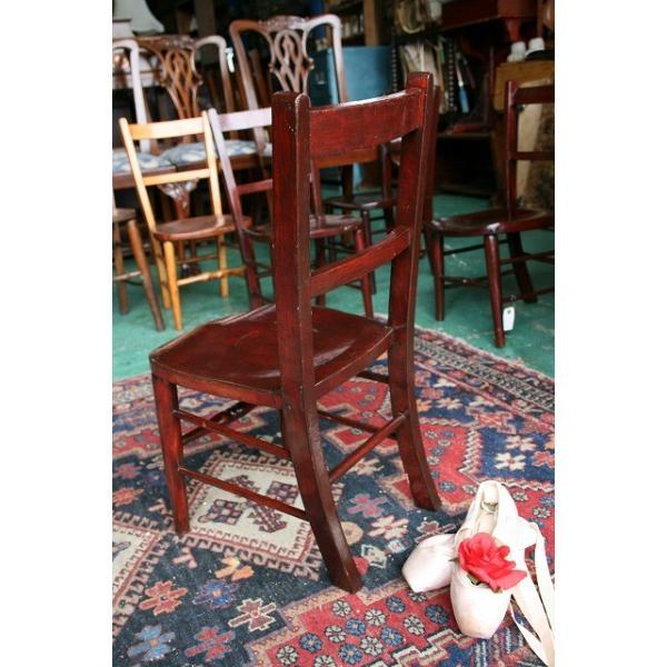 イギリスアンティーク家具 キッズチェア 子供椅子173-4 英国製 1960年頃 送料無料|british-life|03