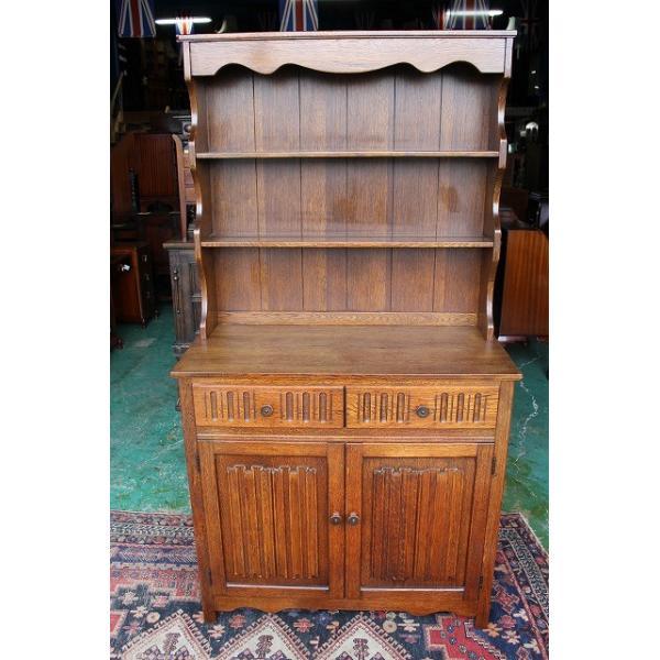 イギリスアンティーク家具 ドレッサー カップボード g211 英国製1960年頃 送料無料|british-life|02