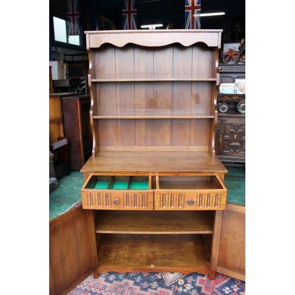 イギリスアンティーク家具 ドレッサー カップボード g211 英国製1960年頃 送料無料|british-life|05