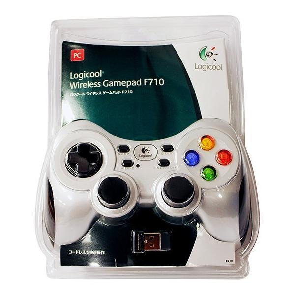 ロジクール ワイヤレスゲームパッド F710|broadmedia|02