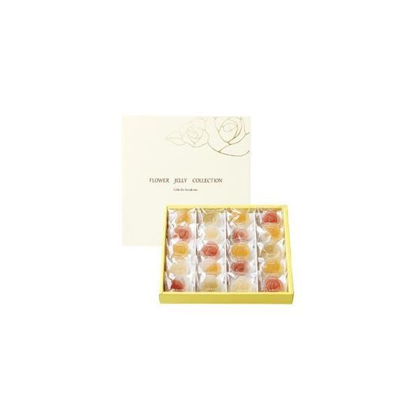 彩果の宝石 フラワーゼリーコレクション 6種類20個入り (R20)