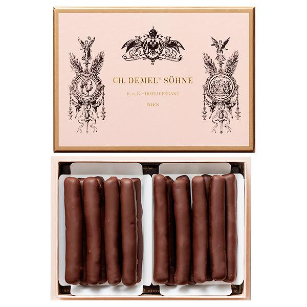 デメル オレンジピールチョコレート 16本入(OrangePeel Chocolate 16)※夏期クール便推奨※包装・のし不可