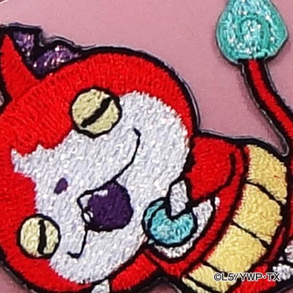 妖怪ウォッチ 刺繍 デコシール ワッペン アイロン|broderie01|04