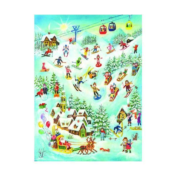 アドベントカレンダー・ゲレンデサンタ クリスマス装飾品