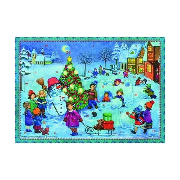 アドベントカレンダー・雪遊び クリスマス装飾品