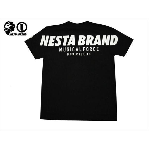 NESTA BRAND ネスタブランド 半袖Tシャツ 202NB1008 クルースウェットレスフリー リップルJQ 半袖Tシャツ ブラック