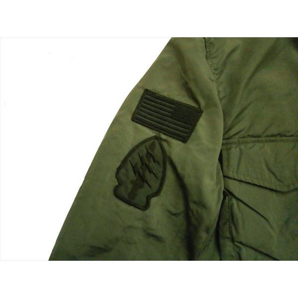 ALPHA/アルファ インダストリーズ TA1372 M-65 MOD PATCED FIELD JACKET/ライトウェイト パッチ M-65フィールドジャケット セージ|bros-clothing|03
