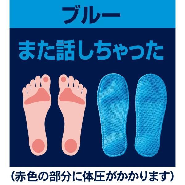 アルファックス グイ押し健康 ルームサンダル メンズ ふみっぱ ブルー broussonetia 02