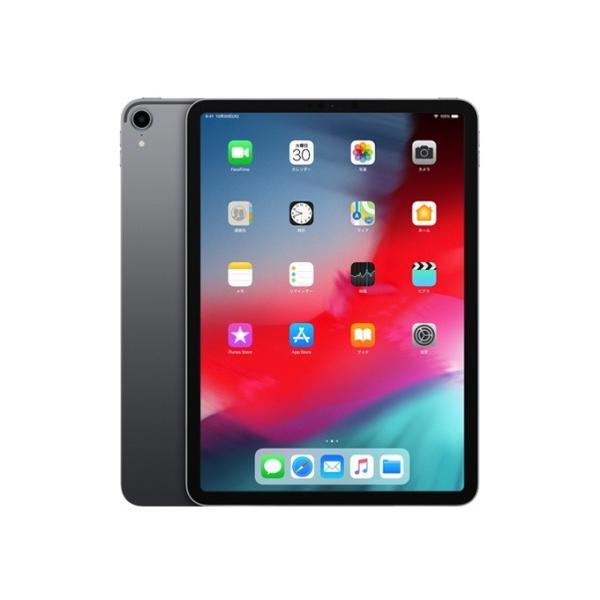 APPLE 11インチiPad Pro Wi-Fi 64GB SGMTXN2J/A スペースグレイFace IDやUSB-Cに対応した11型iPadの画像