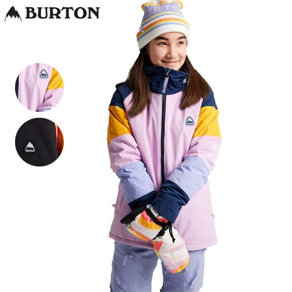 21-22 子供用 BURTON ジャケット Girls' Hart Jacket 11570104: 正規品/バートン/スノーボードウエア/ジュニア/キッズ/スノボ/snow