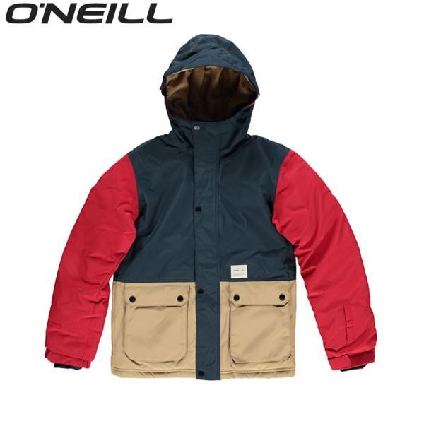 17 18 子供用 O'NEILL ジャケット HAWKING 646 601: 赤 正規品
