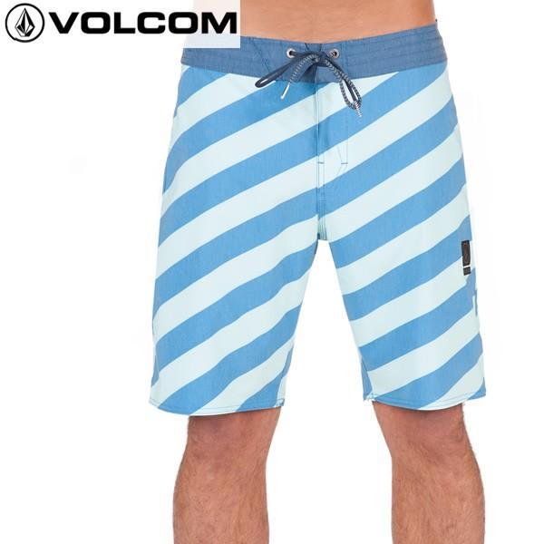17SP VOLCOM トランクス STRIPEY STONEY 19in a0811710: dep 正規品/メンズ/ボルコム/サーフパンツ/海水パンツ/海パン/ボードショーツ/surf