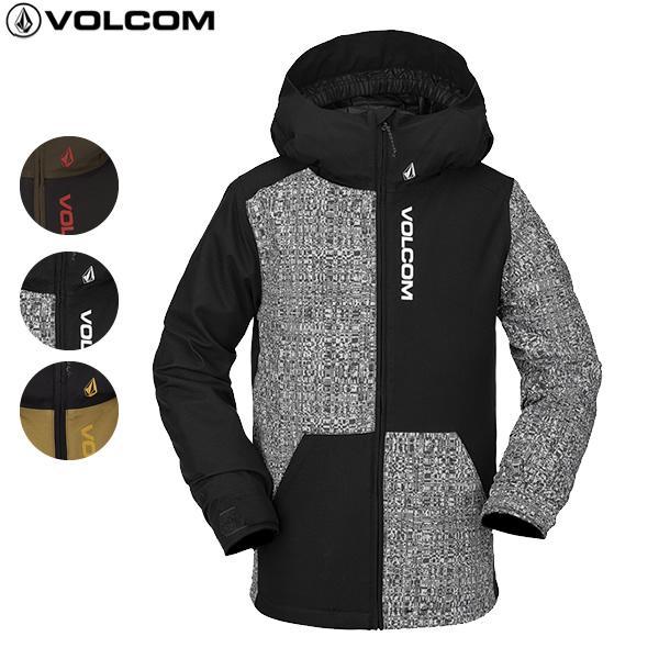 20-21 子供用 VOLCOM ジャケット Vernon Insulated JACKET i0452104: 正規品/ジュニア/キッズ/ボルコム/スノーボードウエア/ウェア/スノボ/snow