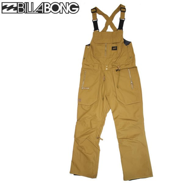 19-20 BILLABONG ビブパンツ WORKERS BIB PANT aj01m-706 : 正規品/メンズ/スノーボードウエア/ハイトップ/ビラボン/aj01m706/snow