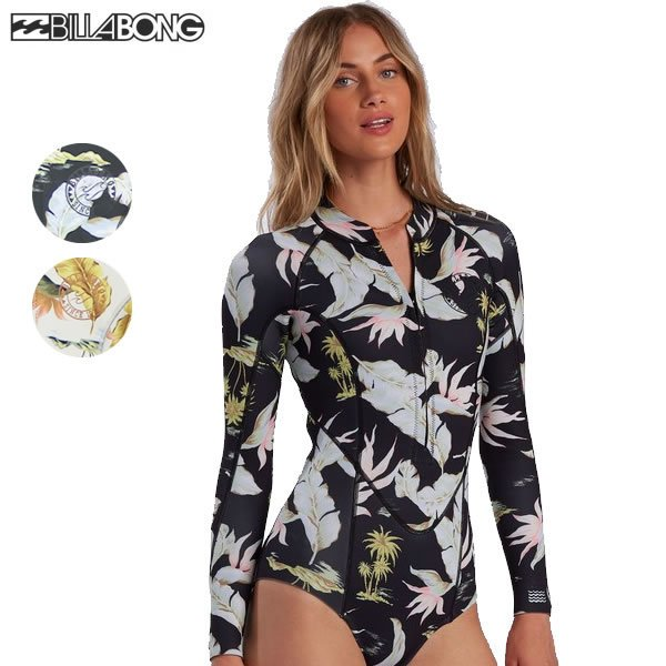 21SS レディース BILLABONG スプリングスーツ SALTY DAYZ LS SPRING BB013-882: 国内正規品/ビラボン/長袖/BB013882/ウエットスーツ/surf