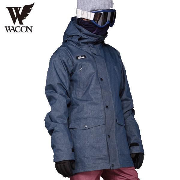18-19 WACON ジャケット EKLINAR : D.NVY 正規品/メンズ/ワコン/スノーボード/ウエア/ウェア/snow/スノボ