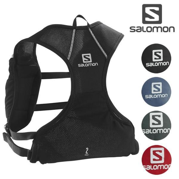 20SSサロモンSALOMONバックパックAGILE2SET:正規品/バッグ/トレイルランニング/outdoor
