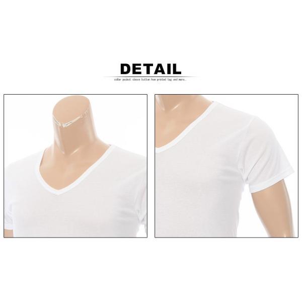 大きいサイズ メンズ 肌着 Hanes ヘインズ 2P ビズ魂 半袖 Vネック アンダー Tシャツ 3L 4L btclub 03