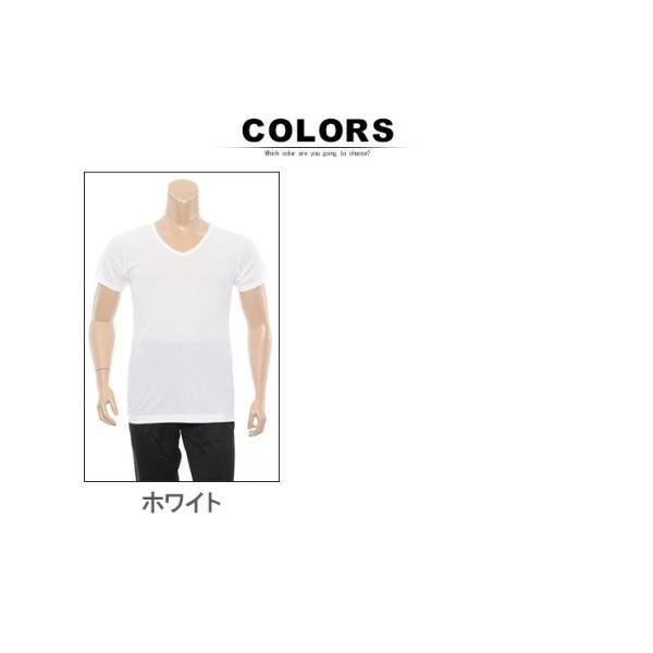大きいサイズ メンズ 肌着 Hanes ヘインズ 2P ビズ魂 半袖 Vネック アンダー Tシャツ 3L 4L btclub 04