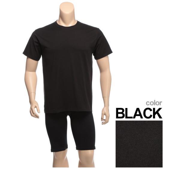 肌着 2枚セット 大きいサイズ メンズ Hanes ヘインズ 抗菌防臭 綿100% クルーネック 半袖 アンダーTシャツ 3L 4L btclub 04