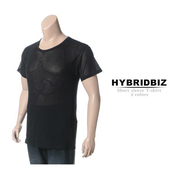 肌着 メンズ 大きいサイズ 春夏対応 肌着 半袖Tシャツ 吸水速乾 抗菌防臭 クルーネック アンダーシャツ インナー 下着 3L-6L HYBRIDBIZ LUCOOL btclub 02