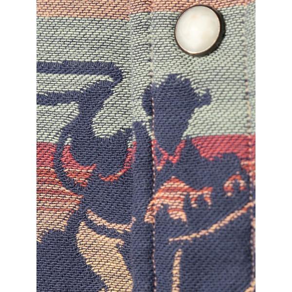 長袖シャツ 大きいサイズ メンズ アニマル総柄×ボーダー ジャガード カジュアル トップス シャツ POLO RALPH LAUREN btclub 06