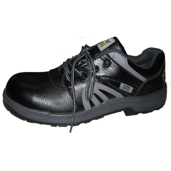 安全靴 スニーカー GD-JAPAN 静電タイプ 軽量 W1010  黒 紐 作業靴 メンズ レディース DIY