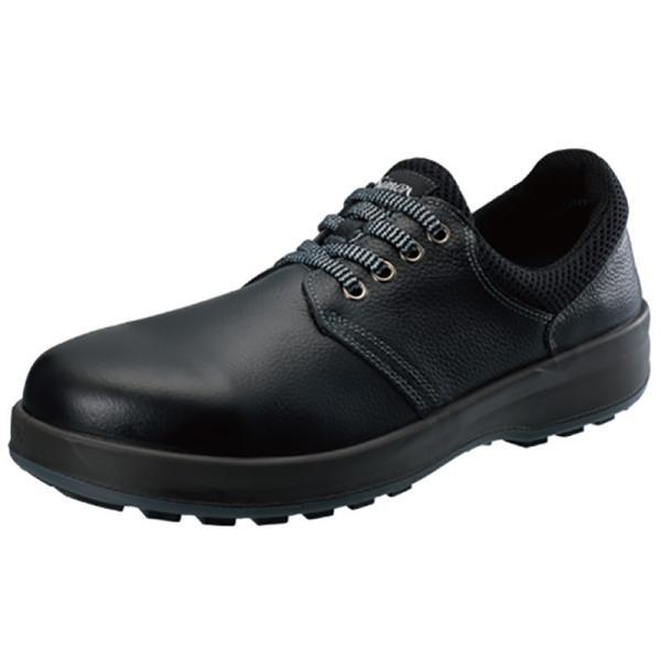 送料無料 シモン 安全靴 スニーカー SX3層底Fソール WS11K 静電 耐油 耐熱 高耐久 黒 紐 作業靴 メンズ レディース DIY