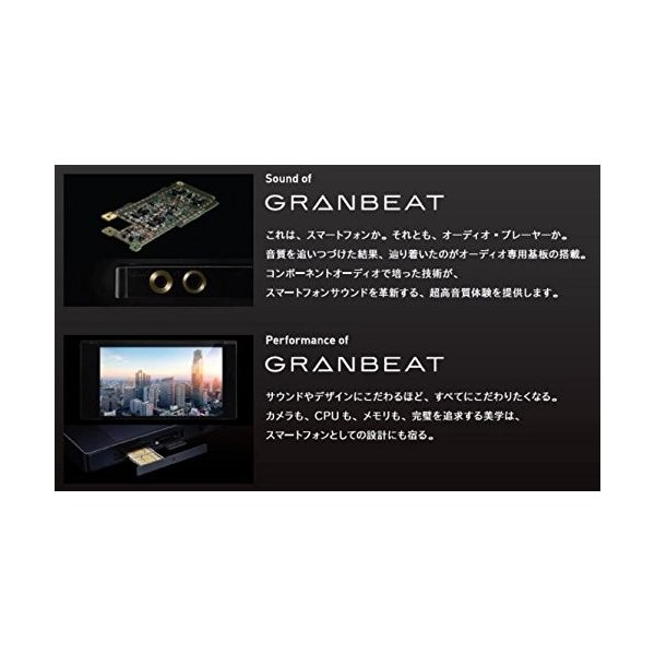 ONKYO DP-CMX1 デジタルオーディオプレイヤー GRANBEAT/ハイレゾ対応 ブラック DP-CMX1(B) 【国内正規品】