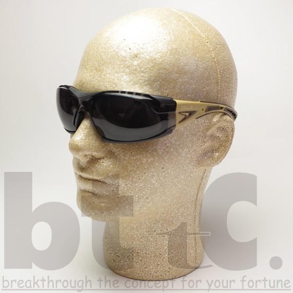 bolle ボレー RUSH PLUS ASIAN PLATINUM スモークレンズ TAN|bttc|05
