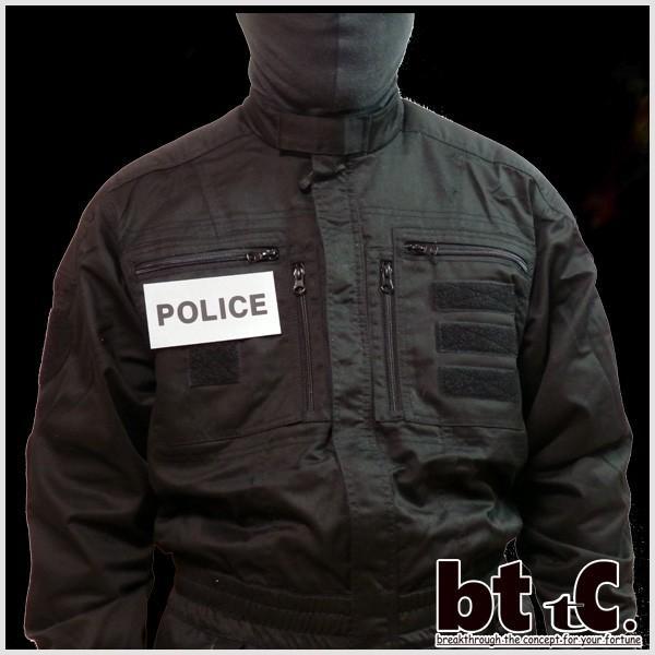 正規輸入品 Gk pro 特殊部隊 リフレクティブバッジPOLICE(small) 代引き不可|bttc|03