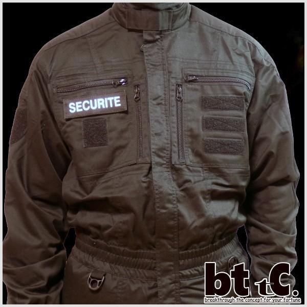 正規輸入品 Gk pro 特殊部隊 リフレクティブバッジSECURITE(small) 代引き不可|bttc|03