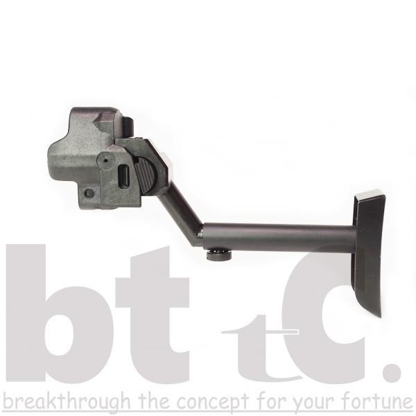 ストック Classic Army MP5バイザーヘルメットストックB&Tタイプ MP5 Foldable Visor Helmet Stock サバイバルゲーム ミリタリー|bttc