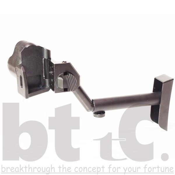 ストック Classic Army MP5バイザーヘルメットストックB&Tタイプ MP5 Foldable Visor Helmet Stock サバイバルゲーム ミリタリー|bttc|03