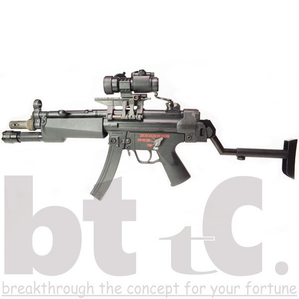 ストック Classic Army MP5バイザーヘルメットストックB&Tタイプ MP5 Foldable Visor Helmet Stock サバイバルゲーム ミリタリー|bttc|04