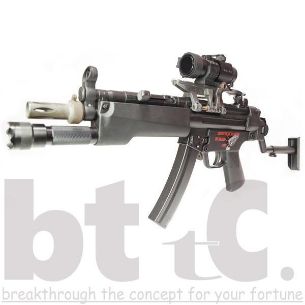 ストック Classic Army MP5バイザーヘルメットストックB&Tタイプ MP5 Foldable Visor Helmet Stock サバイバルゲーム ミリタリー|bttc|05
