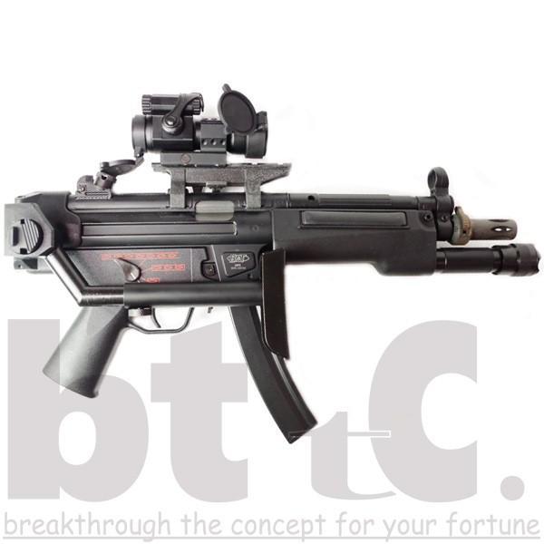 ストック Classic Army MP5バイザーヘルメットストックB&Tタイプ MP5 Foldable Visor Helmet Stock サバイバルゲーム ミリタリー|bttc|06