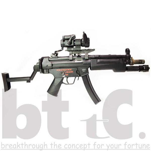 ストック Classic Army MP5バイザーヘルメットストックB&Tタイプ MP5 Foldable Visor Helmet Stock サバイバルゲーム ミリタリー|bttc|07