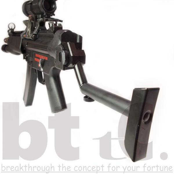ストック Classic Army MP5バイザーヘルメットストックB&Tタイプ MP5 Foldable Visor Helmet Stock サバイバルゲーム ミリタリー|bttc|08