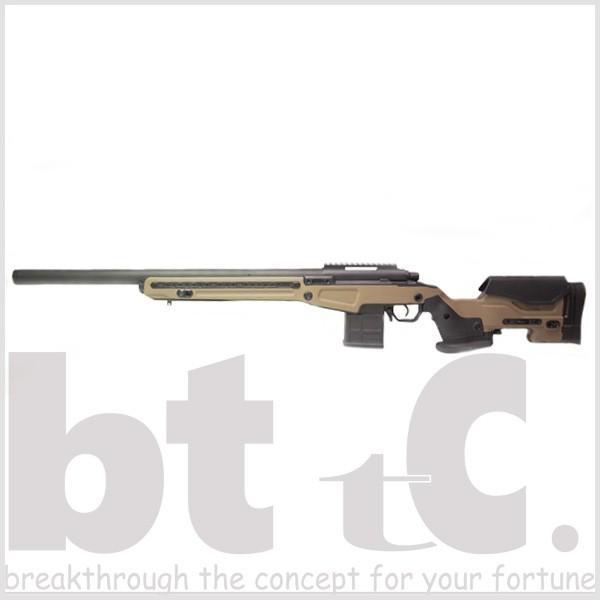 エアガン サバイバルゲーム ActionArmy AAC T10(tactical10) エアーコッキングライフル FDE ミリタリー|bttc