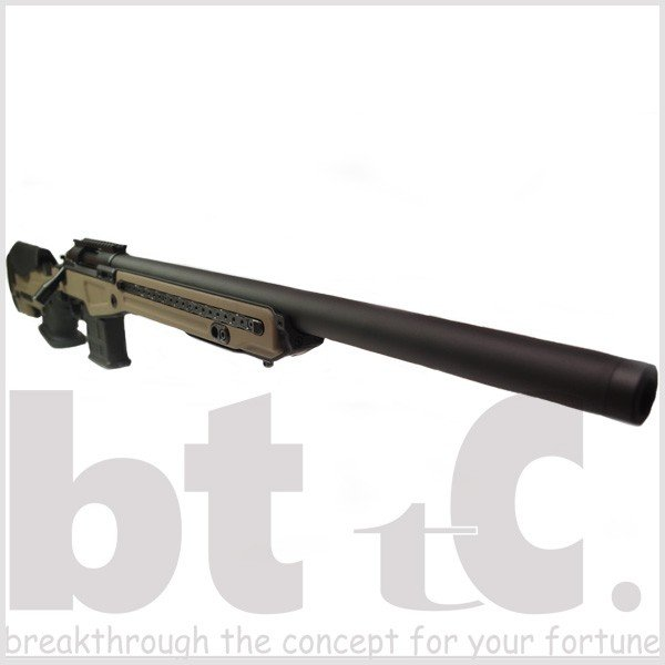 エアガン サバイバルゲーム ActionArmy AAC T10(tactical10) エアーコッキングライフル FDE ミリタリー|bttc|02