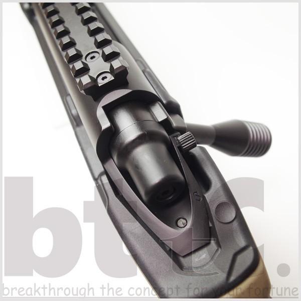 エアガン サバイバルゲーム ActionArmy AAC T10(tactical10) エアーコッキングライフル FDE ミリタリー|bttc|04