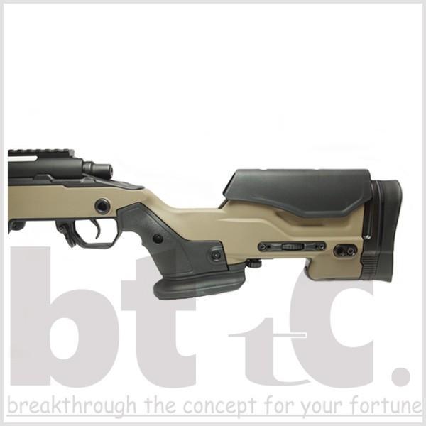 エアガン サバイバルゲーム ActionArmy AAC T10(tactical10) エアーコッキングライフル FDE ミリタリー|bttc|05